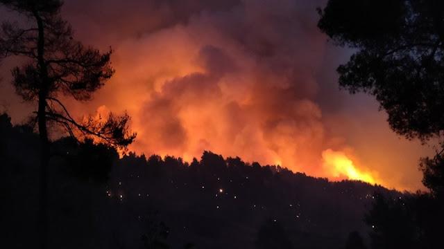 Οι Ένοπλες Δυνάμεις στα μέτωπα των πυρκαγιών – Εντατικοποιούνται οι περιπολίες (βίντεο)