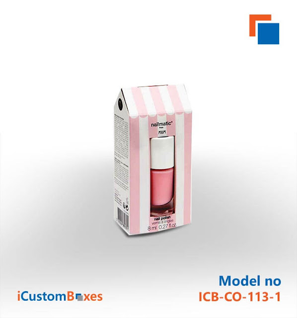 , Get Premium Quality Nail Polish boxes Wholesale at ICustomBoxes