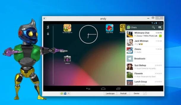 قم بتشغيل أي تطبيق Android (أندرويد) على نظام Windows (ويندوز)