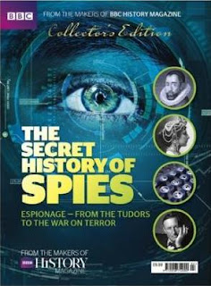 Cover image - BBC History Magazine The Secret History of Spies