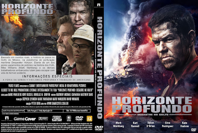 Capa DVD Horizonte Profundo Desastre Do Golfo [Exclusiva]