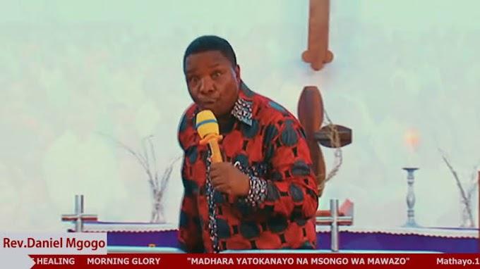 VIDEO   Postor Daniel Mgogo - Wanaume tuishi na wanawake Kwa akili (Download New MP4)