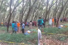 Geger! Tukang Kerupuk Nekad Bunuh Diri Di Perkebunan PTPN VII Cikumpay Purwakarta