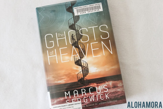 The Ghosts of Heaven by Marcus Sedgwick is a sci-fi fantasy type book.  It won the Printz Honor award this year, 2016.  It received 1 out of 5 stars in my book review.  Well written, but the pace was slow.  It was far different from the other Sedgwick award winners I read.Printz, YA Lit, Teen Reads,  Alohamora Open a Book http://alohamoraopenabook.blogspot.com/