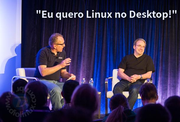 Linus Torvalds quer Linux no Desktop