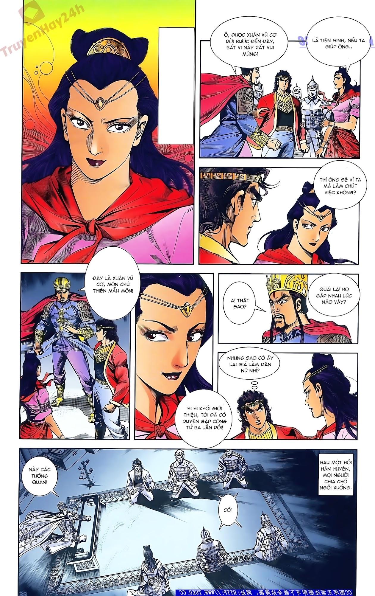 Tần Vương Doanh Chính chapter 47 trang 17