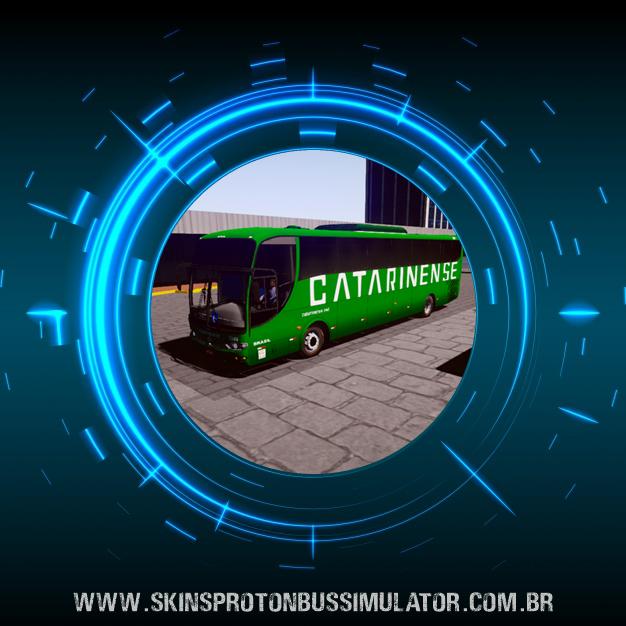 Skin Proton Bus Simulator - G6 1200 MB O-500RS 4X2 Catarinense