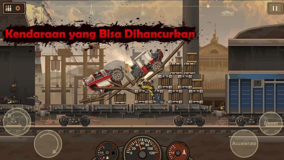 download Earn to Die 2 MOD APK 1.4.18 (MOD MONEY, Free Shopping) Terbaru 2020 3
