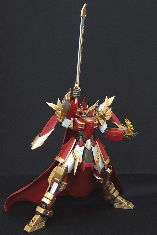 Custom Build: 1/100 Emperor Cao Cao Gundam