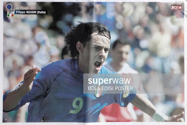 FILIPPO INZAGHI OF ITALIA ON EURO 2000