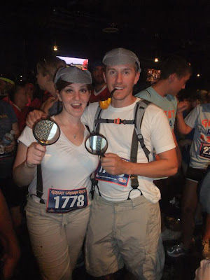 great urban race costumes, sherlock holmes, chicago