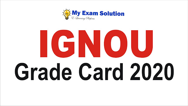 ignou grade card; ignou grade; ignou grade card 2020