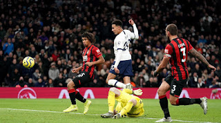 Tottenham 3-2 Bournemouth premier league highlight