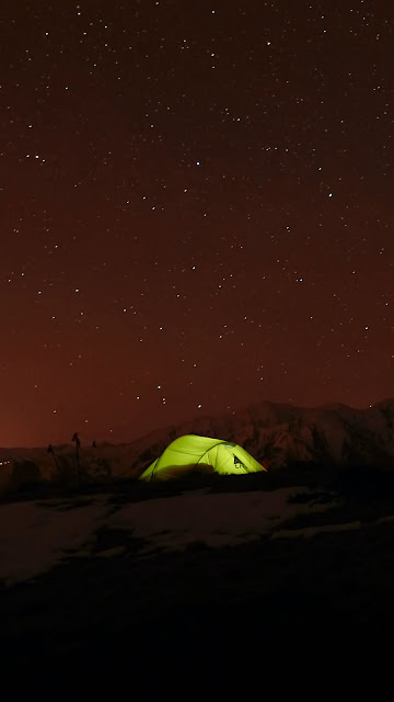 HD wallpaper scene, starry night, sky, stars