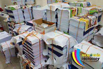 Photocopy số lượng lớn ở Hà Nội