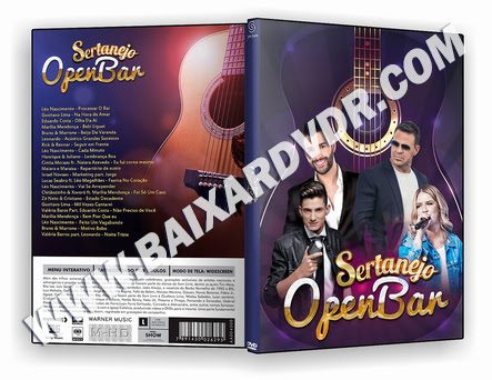 SERTANEJO OPEN BAR 2019 DVD-R