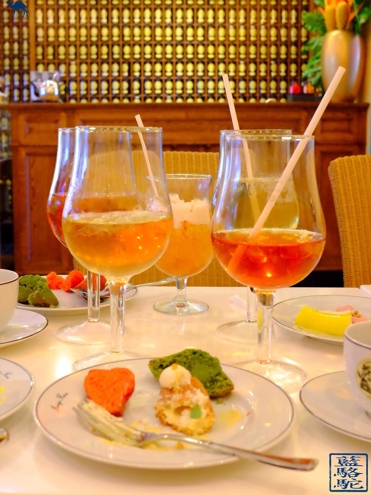 Le Chameau Bleu - Blog Voyage et Gastronomie - Salon thé Mariage frères Paris - Dégustation de Thés