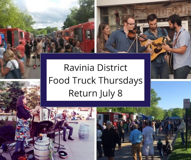 Ravinia District Food Truck Thursdays Delight with Food Truck Treats and Live Music