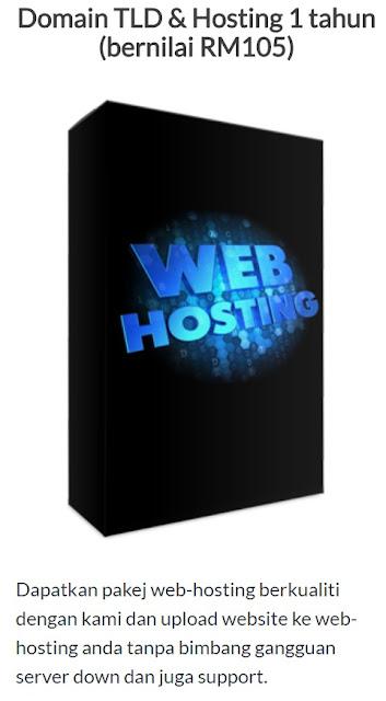 Domain Dan Web-Hosting PERCUMA