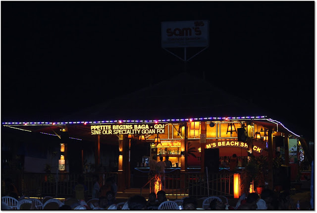 Goa, night life at goa
