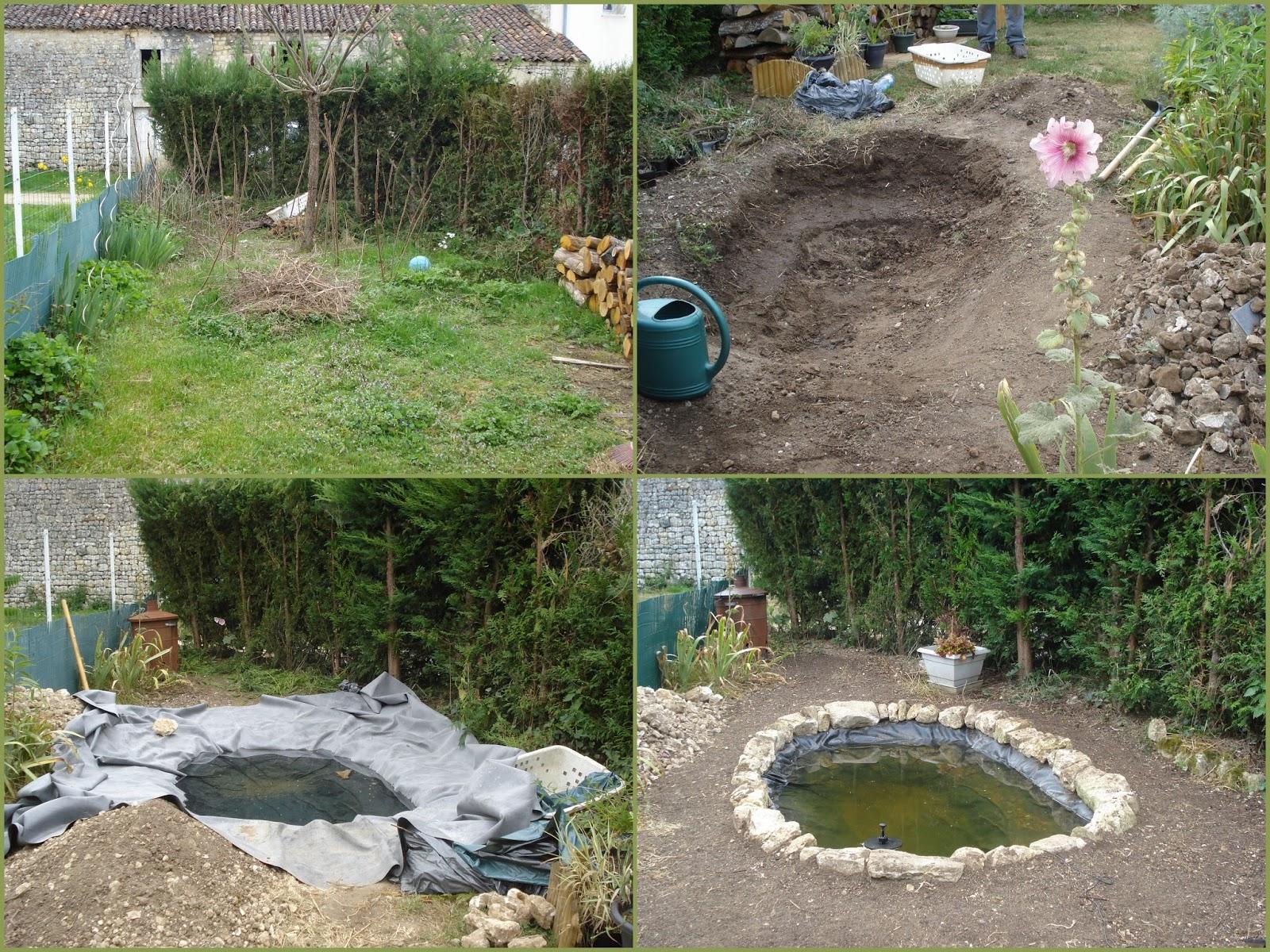 Faire un bassin dans son jardin id es de conception sont int ressants votre for Bassin de jardin facile