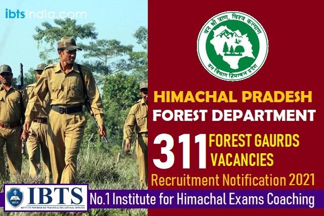HP Forest Guard Recruitment 2021