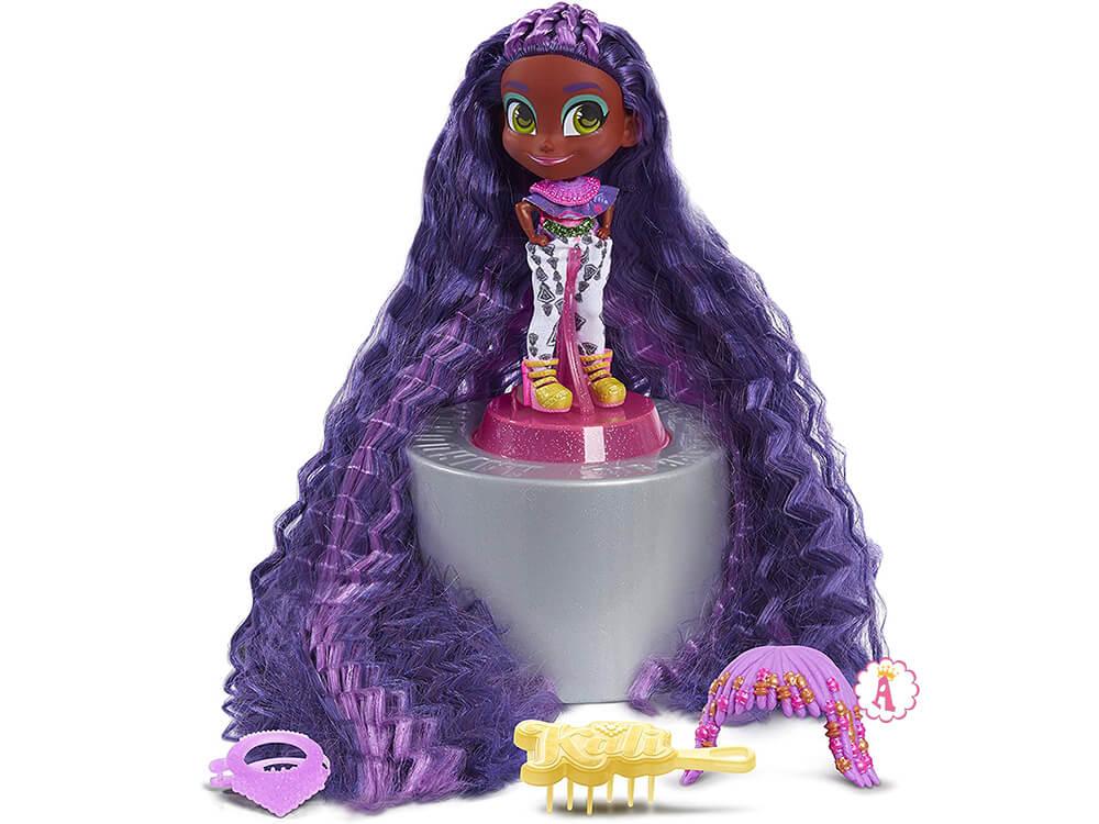 Кукла афро-американка Hairdorables Longest Hair Ever Kali