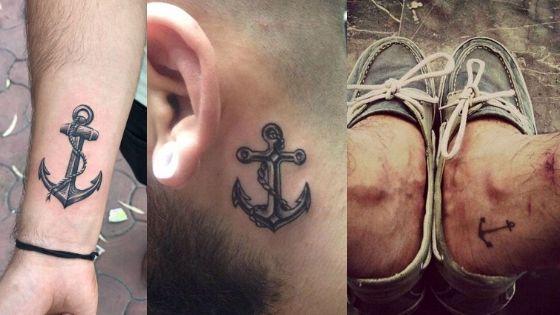 Anchor Tattoos for Men
