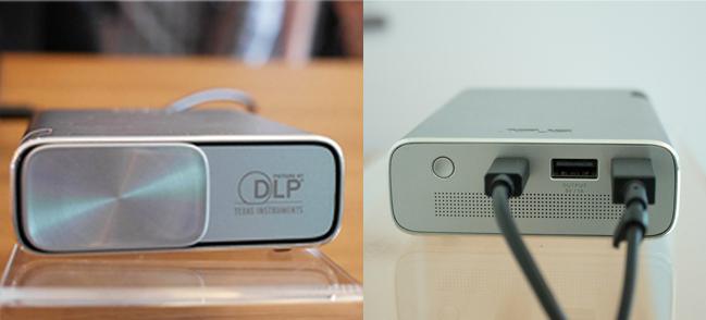 Teknologi DLP - Koneksi Micro USB / Mini HDMI / MHL - Built in Baterai 6000 mAh