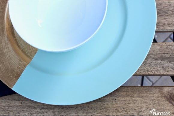 Dress up your dinner party with this DIY project for decorative plates