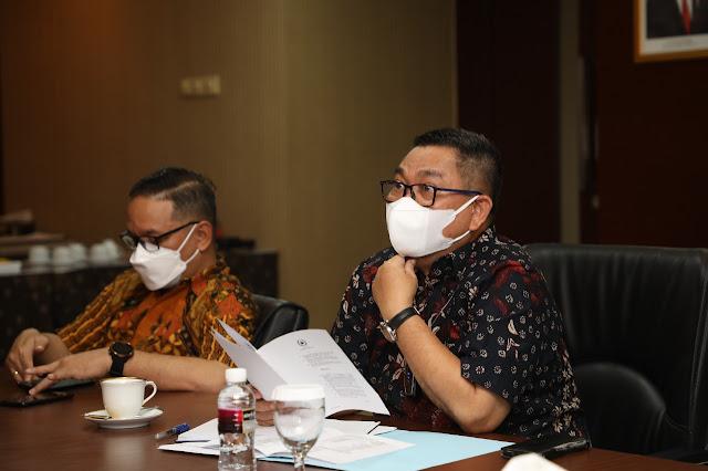 rapat koordinasi dan sosialisasi penyelenggaraan Kawasan Perdagangan Bebas dan Pelabuhan Bebas yang diselenggarakan oleh Kementeriain Koordinator Bidang Kemaritiman dan Investasi Republik Indonesia pada 31 Agustus dan 1 September 2021 dan didikuti secara virtual.