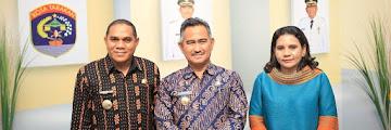 Wali Kota Tarakan Beserta Jajaran Menerima Kunjungan Kerja Pemerintah Kabupaten Flores Timur