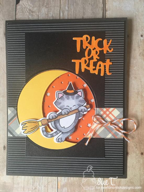 Trick or Treat by Sue features Newton's Boo-tiful Night and Halloween Trio by Newton's Nook Designs; #newtonsnook