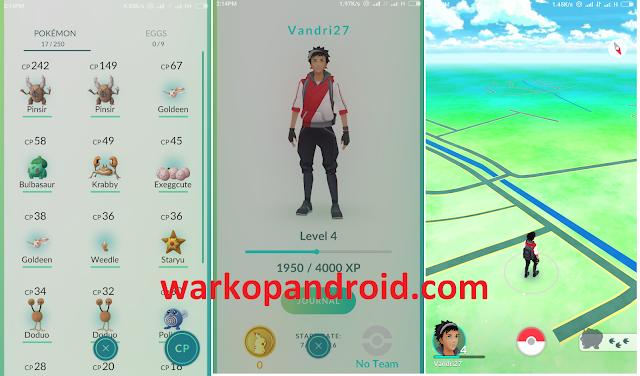 Pokemon GO Versi 0.29.0 Apk Untuk Android Terbaru