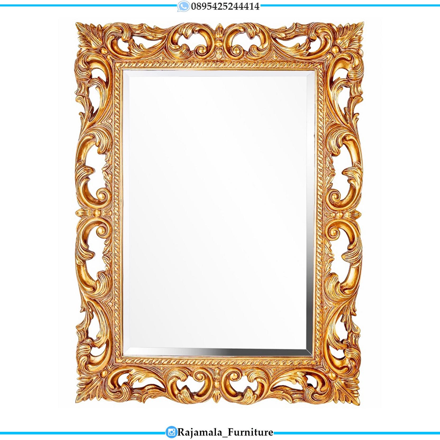 Cermin Hias Mewah Luxury Carving Jepara Terbaru RM-0113