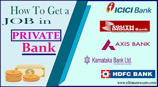 How to get a job in Private Bank