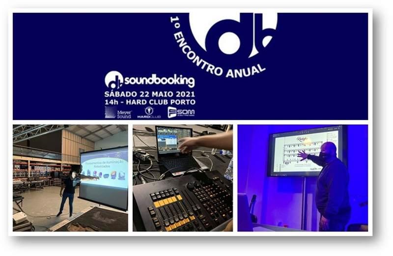 A principal escola de Técnicos de Som e Iluminação em Portugal, Soundbooking, realiza o primeiro Encontro Anual no próximo dia 22 de Maio, às 14h, no Hard Club, Porto.