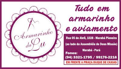 ARMARINHO DA LU - TUDO EM ARMARINHO E AVIAMENTO - EM MARABÁ/PA