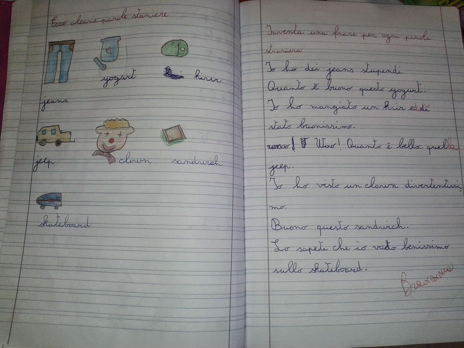 LA MAESTRA MARIA TI SALUTA: ITALIANO TESTI CLASSE 3^C