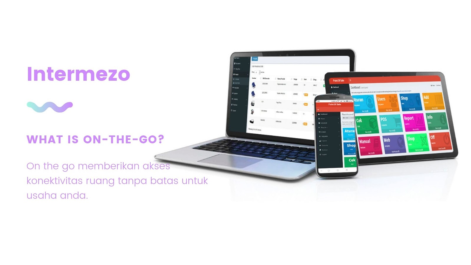 MOBILE POS ON THE GO,mesin kasir android ios