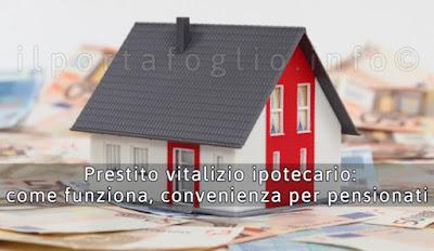 prestito vitalizio ipotecario come funziona