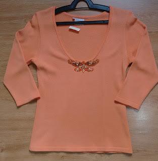 blusa em tricot Regina Portinari tam M