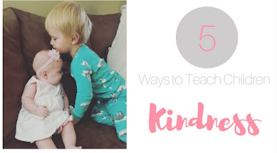 5 Ways to Teach Children Kindness by Caitlin Rogers