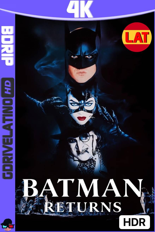 Batman Regresa (1992) BDRip 4K HDR Latino-Ingles MKV