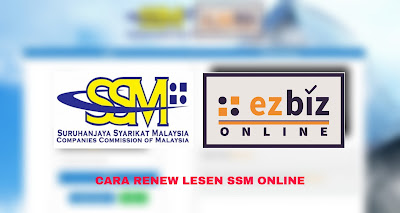 Cara Renew SSM 2020 Online (Perbaharui ezBiz)