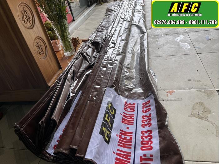 Thi công lắp đặt mái bạt xếp chất lượng tại Phú Quốc