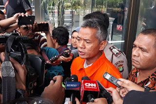 Mulai Terbuka, Wahyu Akui Terima 15 Ribu Dolar Singapura dari Kader PDIP Saeful Bahri