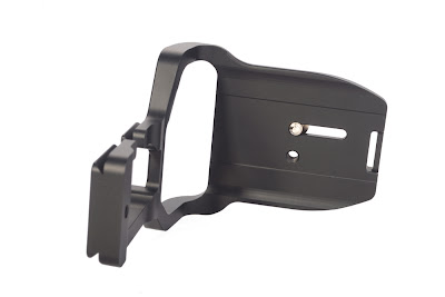 Sunwayfoto PCL-6DG Custom L Bracket base plate top-view