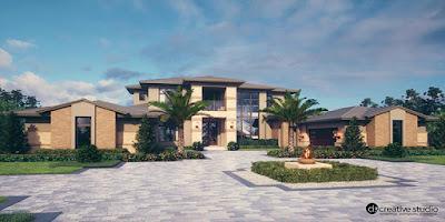新しいアメリカの住宅