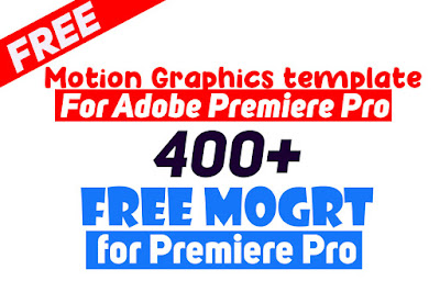 Free Motion graphics template for premiere pro